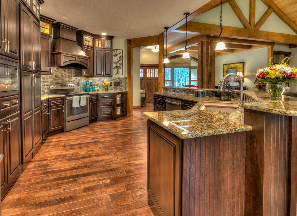 Toffee maple kitchen with Independence door style and 5PC-Raised drawer fronts