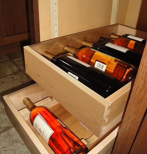 Wine Tray Floor Mount